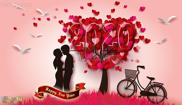 Happy New Year 2020 Love Greetings Images