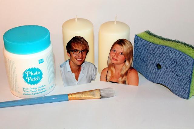 DIY, Basteln: Photo Potch Kerzen als Geschenkidee - DIYCarinchen