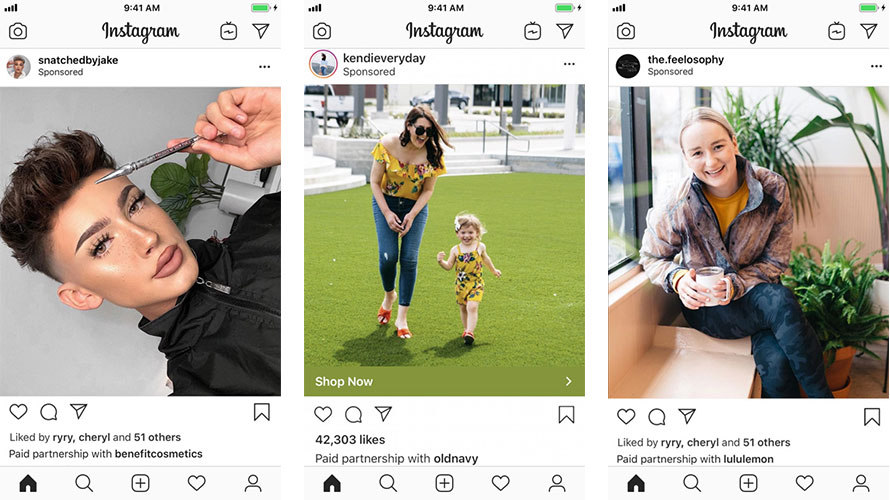 Sponsored Instagram Posts