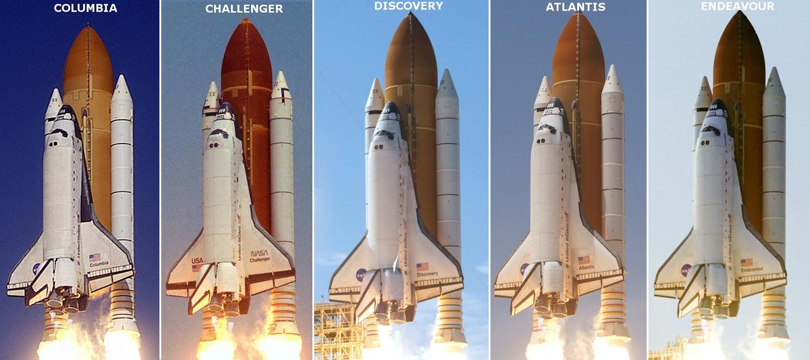 Modelos de Ônibus Espacial