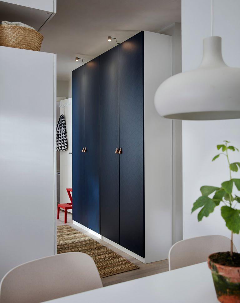 novedad catálogo ikea 2020 the lab home China armario puertas azules