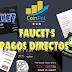 COINPOT + FAUCET`S PAGOS DIRECTOS