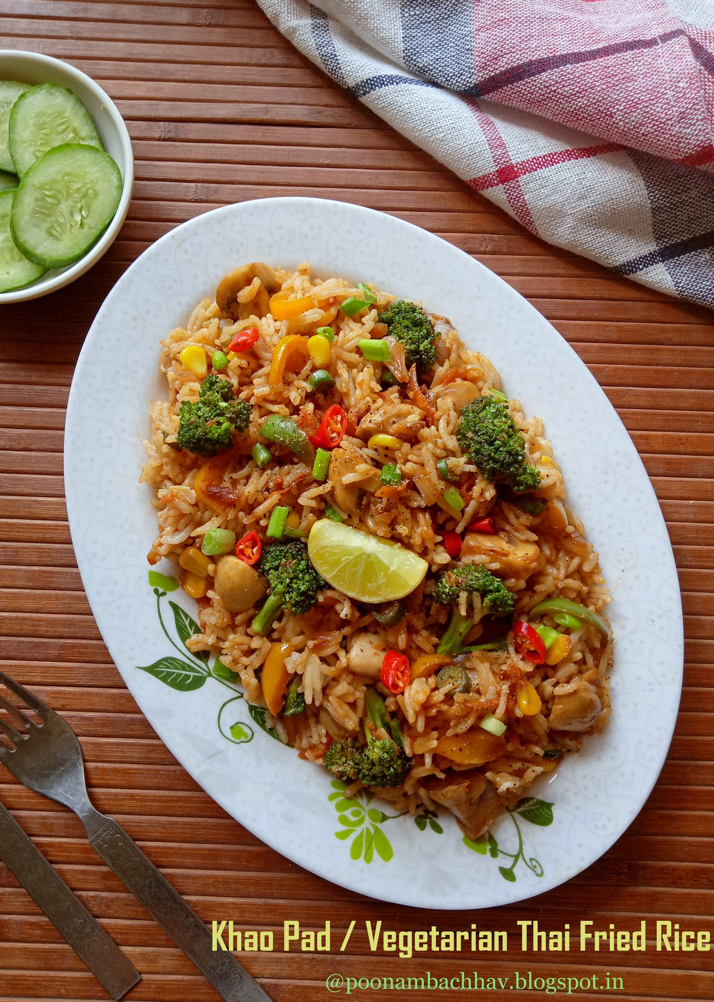 Annapurna Khao Pad Vegetarian Thai Fried Rice