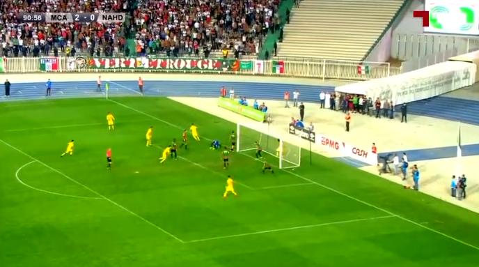 اهداف مباراة مولودية الجزائر ونصر حسين داي الرابطة المحترفة الجزائرية الأولى
