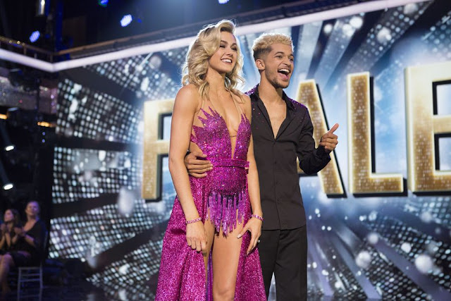 'Dancing With The Stars': Jordan Fisher and pro - partner Lindsay Arnold named Season 25 champions