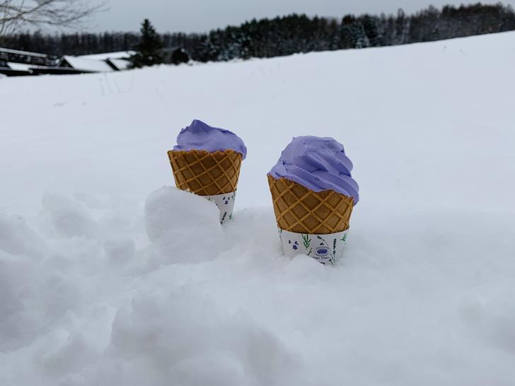 溫度低於0度,冰淇淋不會融化