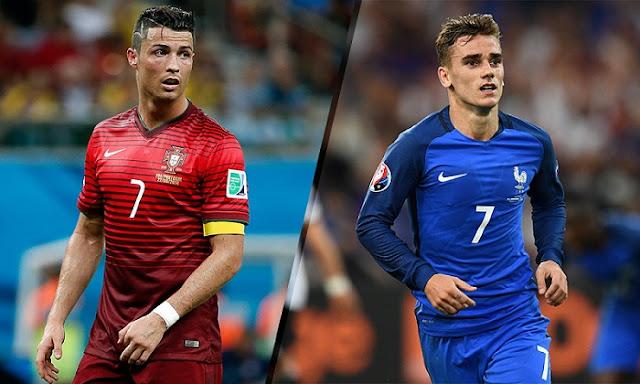 مباراة البرتغال وفرنسا بث مباشر