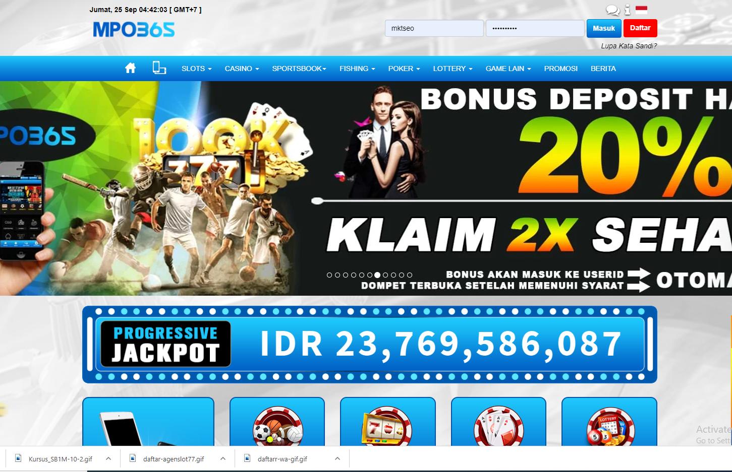 Aar 661 Mpo365 Agen Judi Casino Online Gameplay Asf Jira