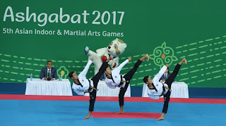 Indonesia Raya Berkumandang di Asian Indoor Martial Arts Games
