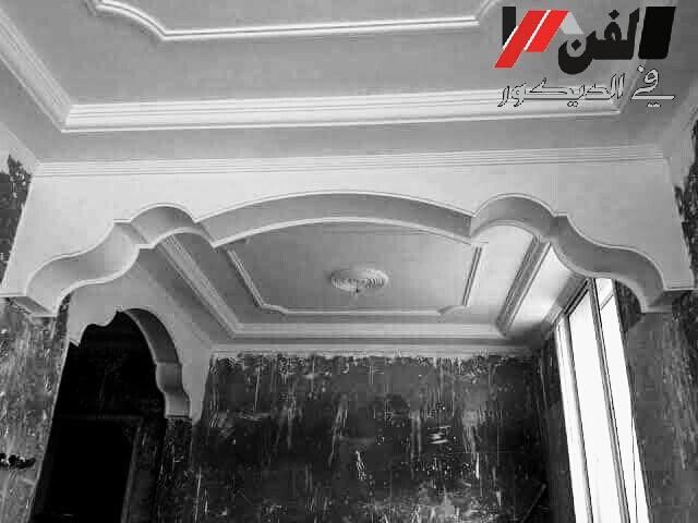 صور واشكال تصاميم اقواس جبس مغربي حديثة