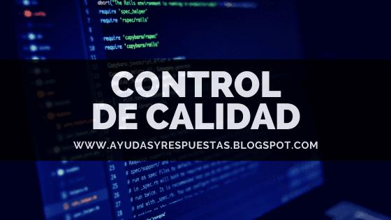CONTROL DE CALIDAD. ACT 5 QUIZ UNIDAD 1