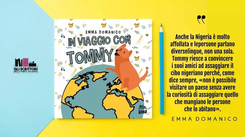 In viaggio con Tommy, un libro per bambini di Emma Domanico