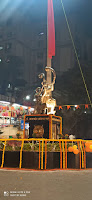 Shiv Sena inaugurated chhatrapati shivaji maharaj chowk in Mantri park Goregaon