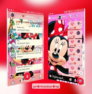 Minnie Aero Theme For YOWhatsApp & Fouad WhatsApp By Nanda