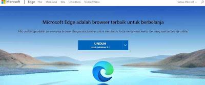 Microsoft Edge pengganti Internet Explorer