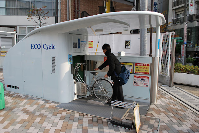 Eco Cycle Underground Bicycle Parking