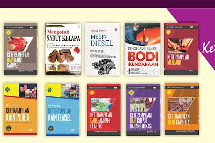 Buku Perpustakaan Desa - Buku Teknik, Ketrampilan dan Kesenian