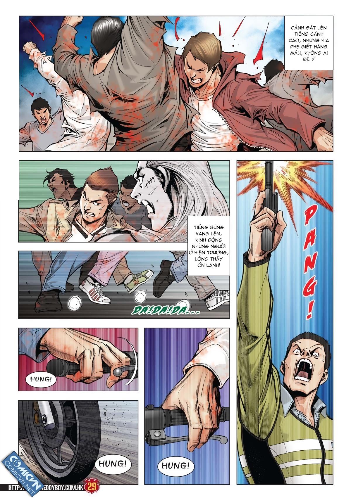 Người Trong Giang Hồ chapter 1986: chạy trang 27