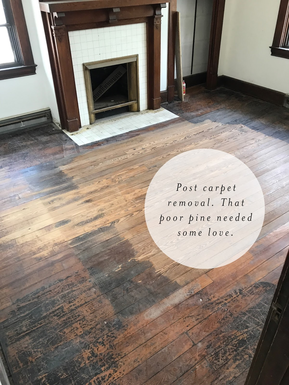 Refinishing hardwood pine floors
