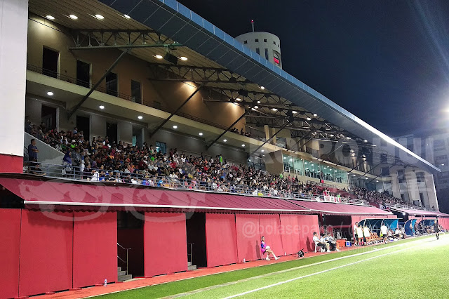 The crowds at Jurong East Stadium in early part of 2020 season