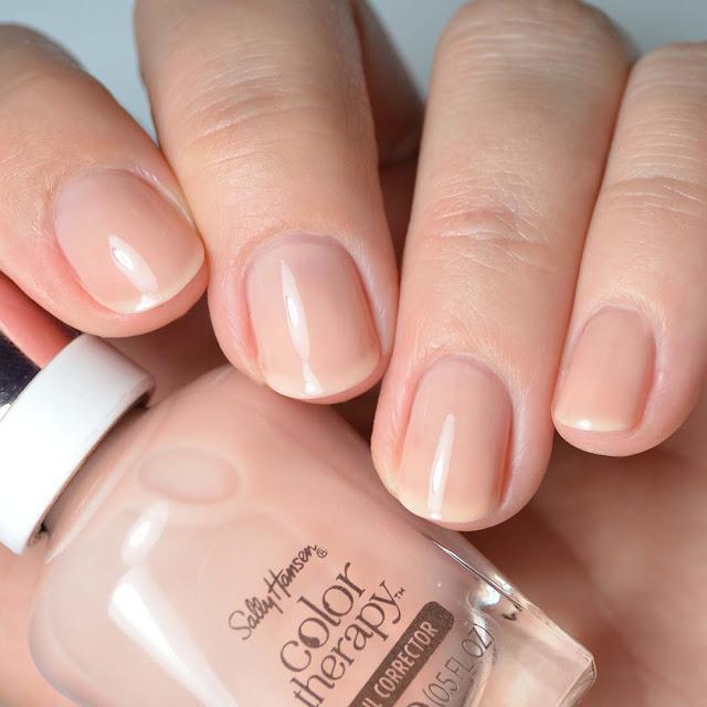 pink nail polish base