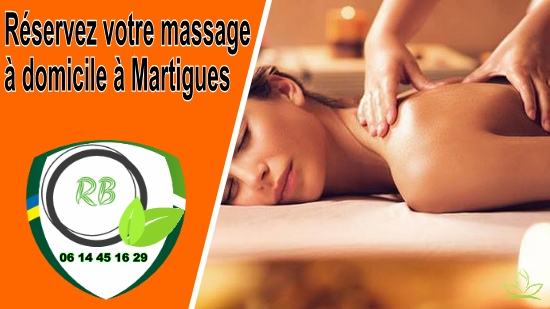 Réservez votre massage à domicile à Martigues;