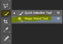 Magic wand tool