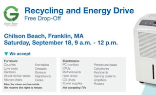 Recycling and Energy Drive - Sep 25
