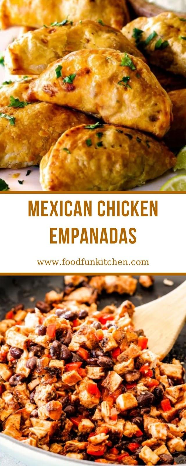 MEXICAN CHICKEN EMPANADAS