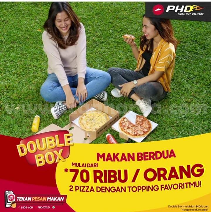 Promo PHD Double Box Makan Berdua Mulai Dari 70 Ribu per Orang!