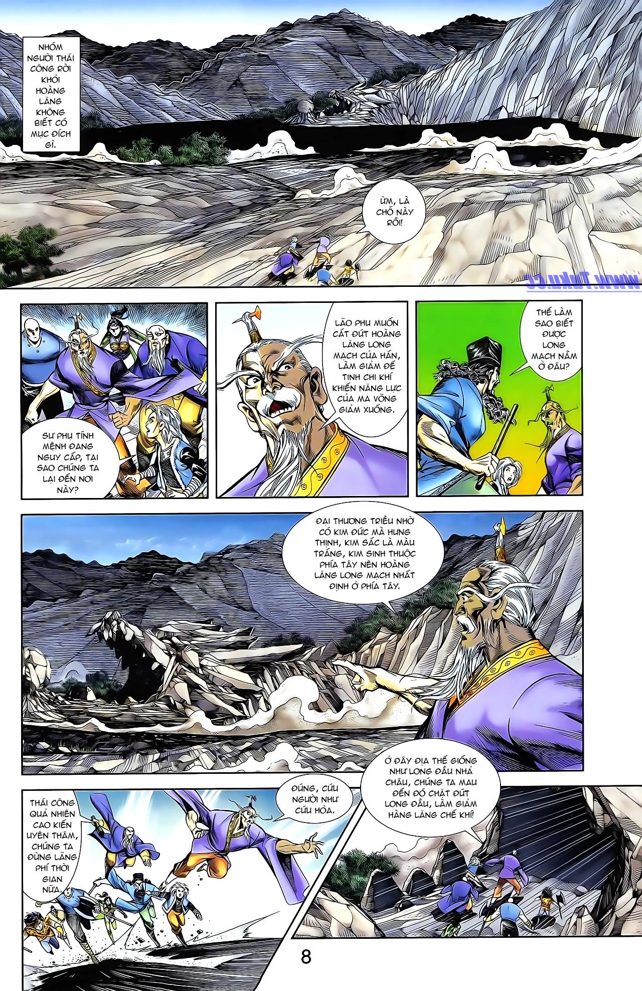 Cơ Phát Khai Chu Bản chapter 161 trang 18