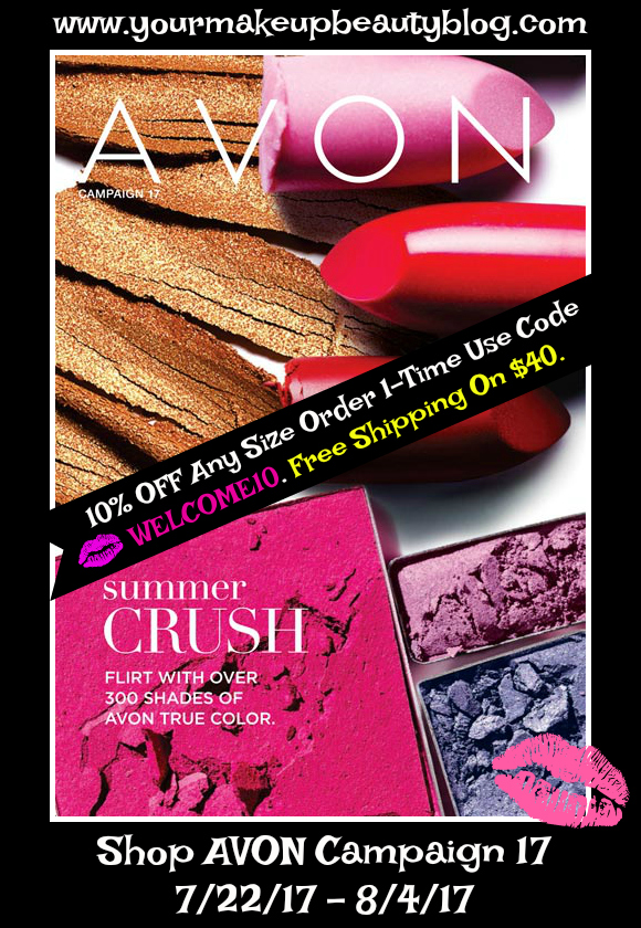Click on Brochure & View AVON Campaign 17 - Summer CRUSH