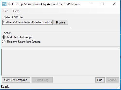 الخطوة 3: قم بتشغيل أداة إدارة المجموعة المجمعة