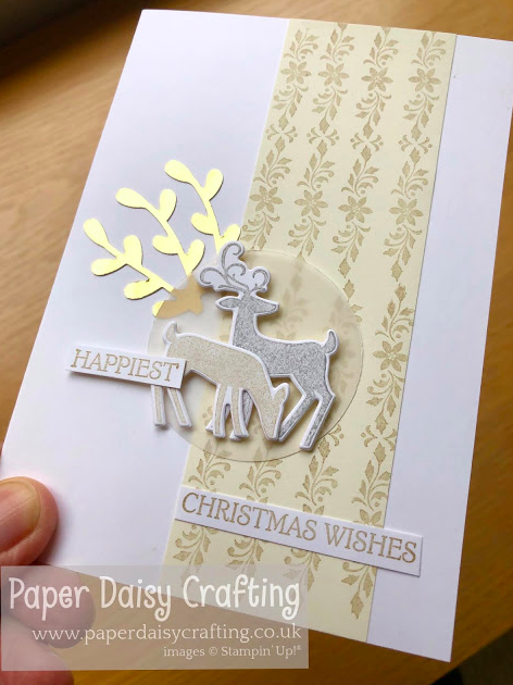 Nigezza Creates with Stampin' Up! & Paper Daisy Crafting & Dashing Deer