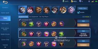 Emblem & Build Khufra The sickest and strongest mobile legends