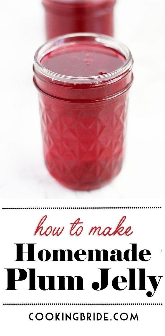 Homemade Plum Jelly