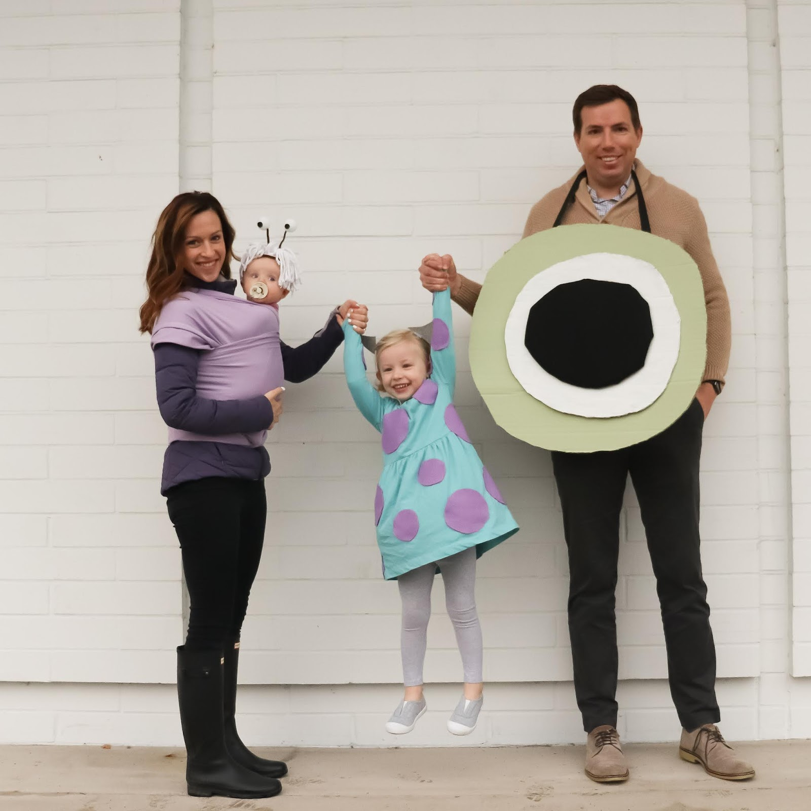 Monster Inc Family Costume