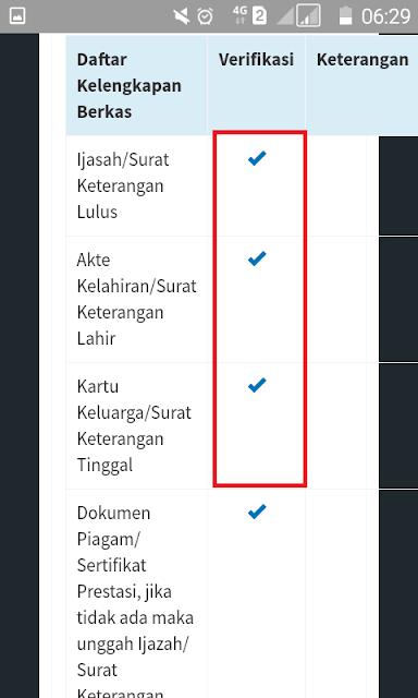 verifikasi berkas ppdb purworejo
