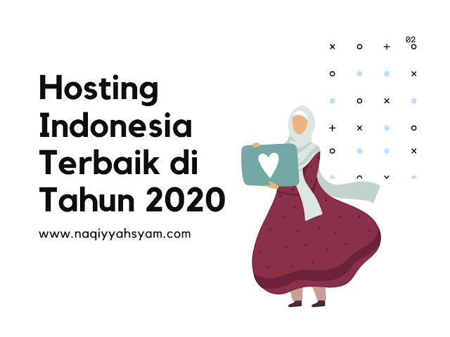 hosting indonesia terbaik 2020