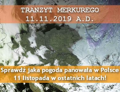 Mecz chmury kontra pogodne niebo: jaka pogoda panowała w Polsce 11 listopada w ostatnich latach