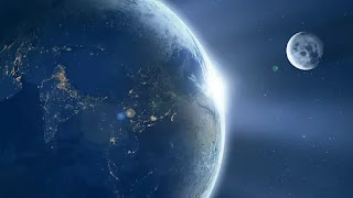 Imagen de dos planetas