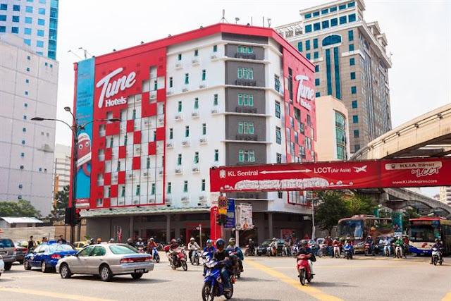 Penginapan Percuma Daripada Tune Hotel Untuk 'Frontliners' Hospital Kuala Lumpur