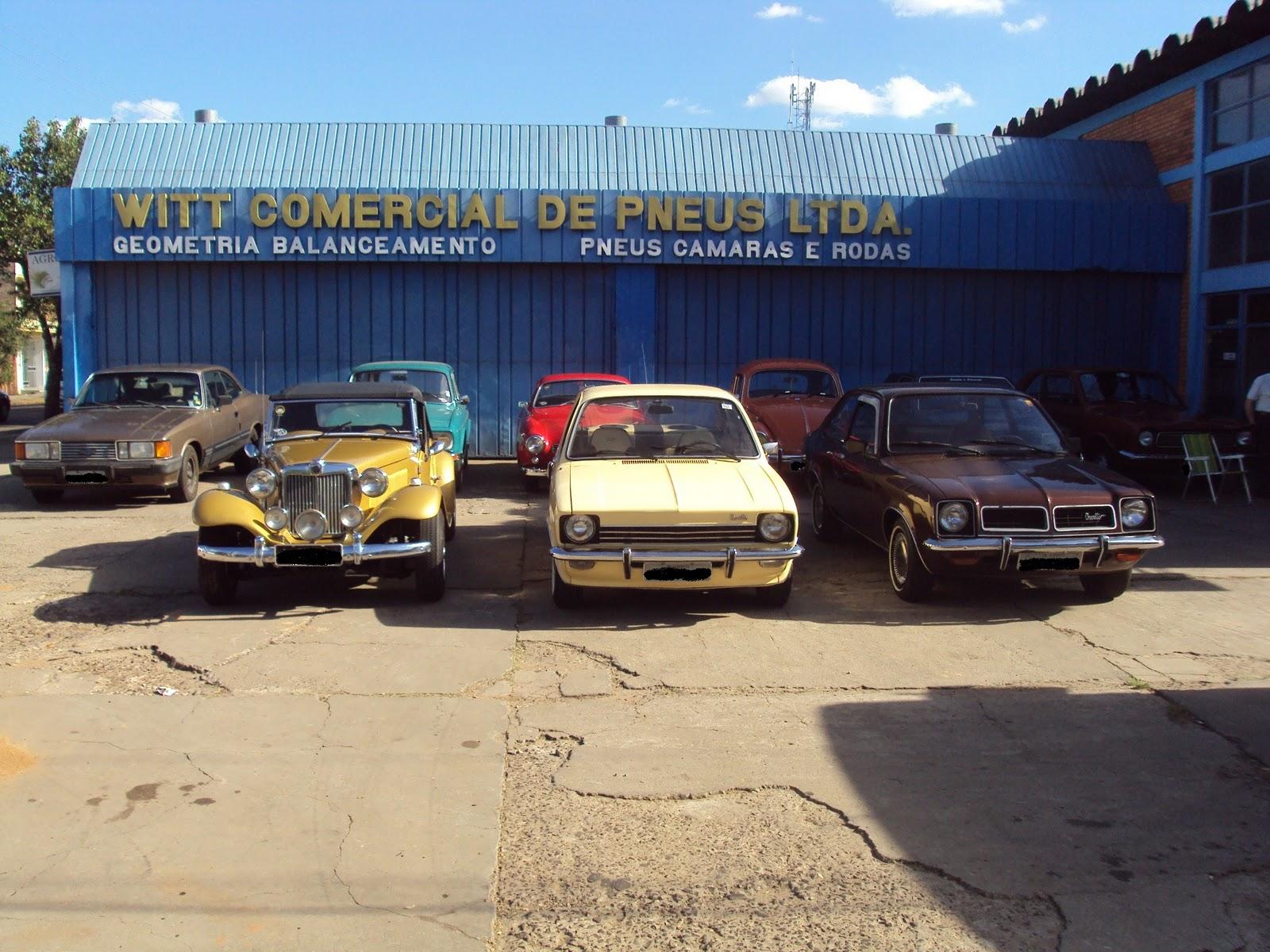 Garage 75: 26º Encontro Mensal da Confraria do Carro Antigo de Alegrete (Local: Witt Pneus)