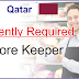 Store Keeper Vacancy - Qatar
