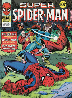 Super Spider-Man #272, Razorback