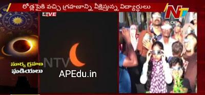 Live Suryagrahanam