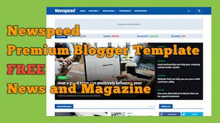Download Newspeed Premium Blogger Template