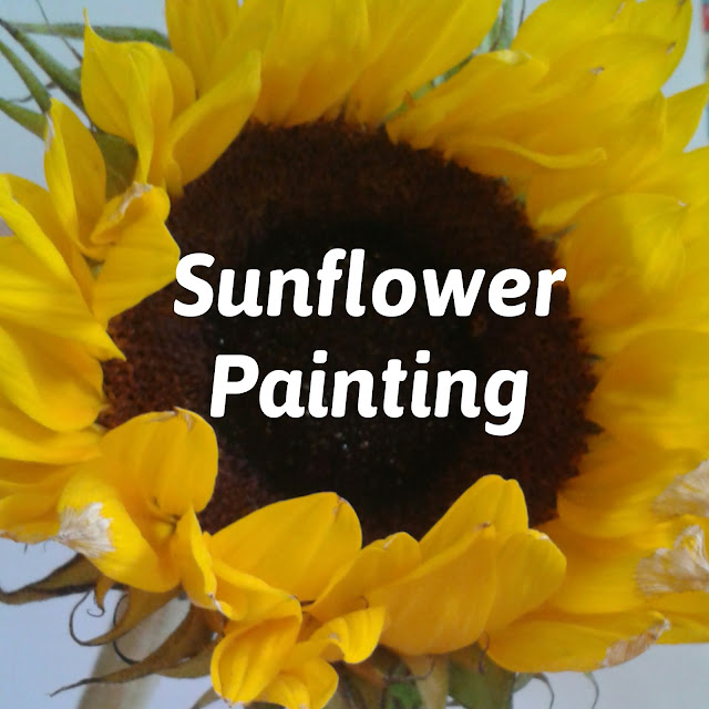 Sunflower painting and investigation