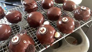 เค้กช็อคโกแลตหน้านิ่ม หมีน้อย