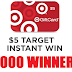 $5 Target Gift Card Instant Win Giveaway - 5,000 Winners! Daily Entry, Ends 3/11/20